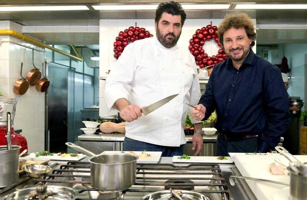 Chef Canavacciuolo e Leonardo Pieraccioni per lo speciale natalizio di Fox Life   Digitale terrestre: Dtti.it