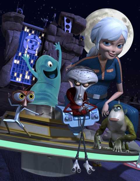 Mostri contro alieni su Nickelodeon