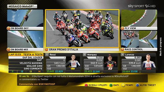 Motomondiale 2014, tutto su Sky live e in HD i dettagli dei canali e del team | Digitale terrestre: Dtti.it