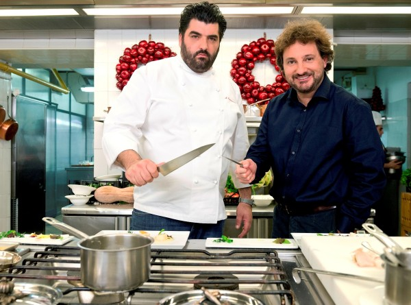 Foxlife_Natale Con Cannavacciuolo_Chef e Pieraccioni (2)