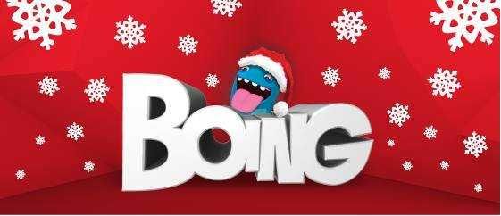 Natale in famiglia con Boing e Cartoonito | Digitale terrestre: Dtti.it