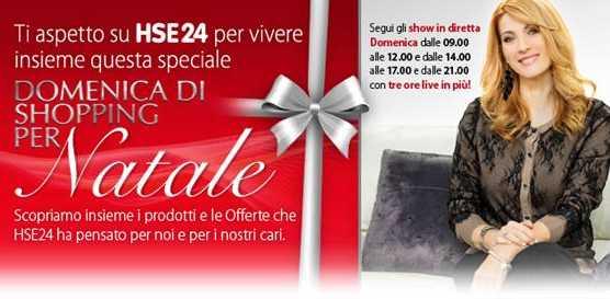 Domenica 15 i regali di Natale si fanno insieme a Milena Miconi su HSE24 | Digitale terrestre: Dtti.it