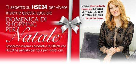Domenica 15 i regali di Natale si fanno insieme a Milena Miconi su HSE24
