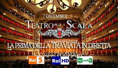 La Prima della Scala in diretta esclusiva HD sui canali Rai | Digitale terrestre: Dtti.it