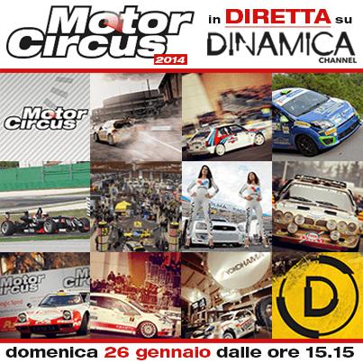 Dinamica Channel in diretta dal Motocircus 2014 | Digitale terrestre: Dtti.it