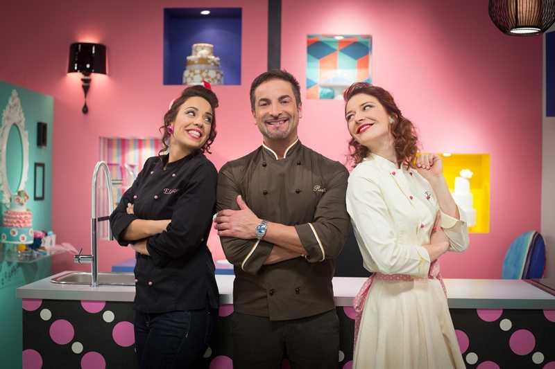 """My cake design: la battaglia dello zucchero, con Renato Ardovino e le sue """"cake angels"""" su Real Time   Digitale terrestre: Dtti.it"""