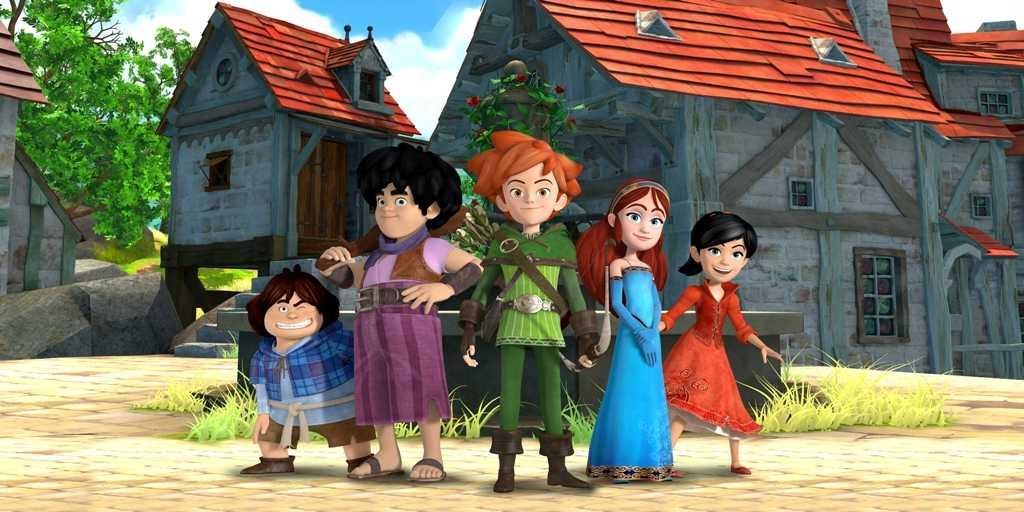 "DeAKids e Sky 3D presentano ""Robin Hood alla conquista di Sherwood"" | Digitale terrestre: Dtti.it"
