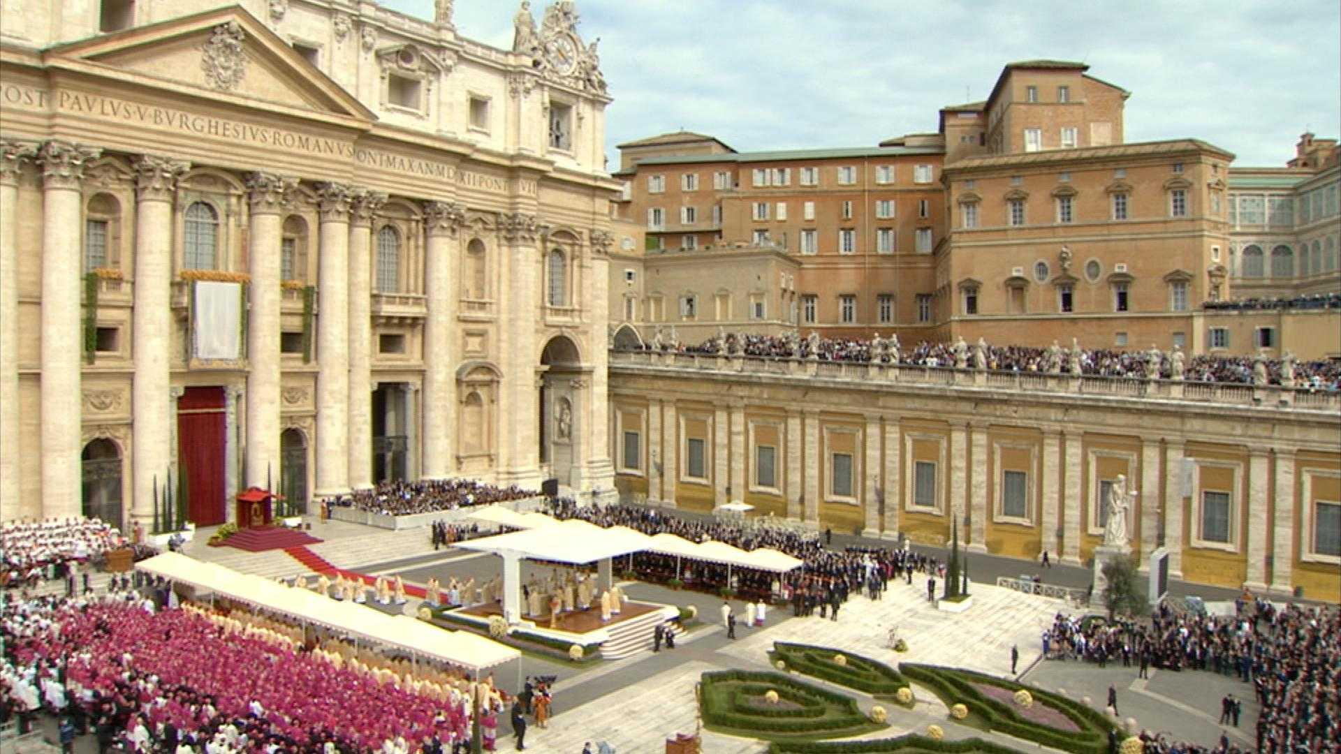 La cerimonia di Canonizzazione in diretta da Piazza San Pietro su Sky 3D | Digitale terrestre: Dtti.it