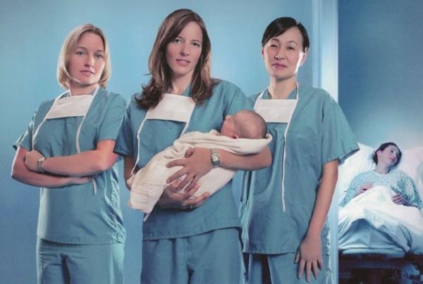 Dottoresse in sala parto: nuova serie da domani su Real Time