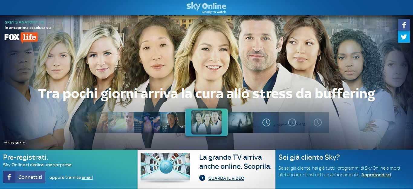 Sky presenta Sky Online | Digitale terrestre: Dtti.it
