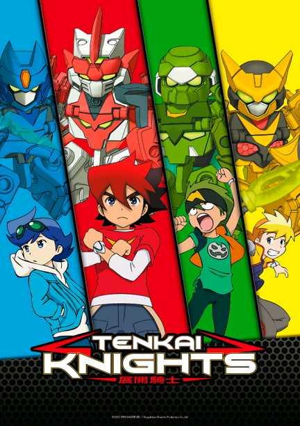 Su K2 arriva la serie animata Tenkai Knights dopo il grande successo internazionale | Digitale terrestre: Dtti.it