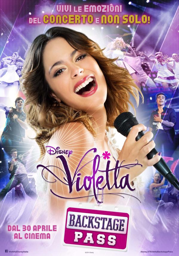 Violetta Backstage pass: il trailer italiano e la locandina