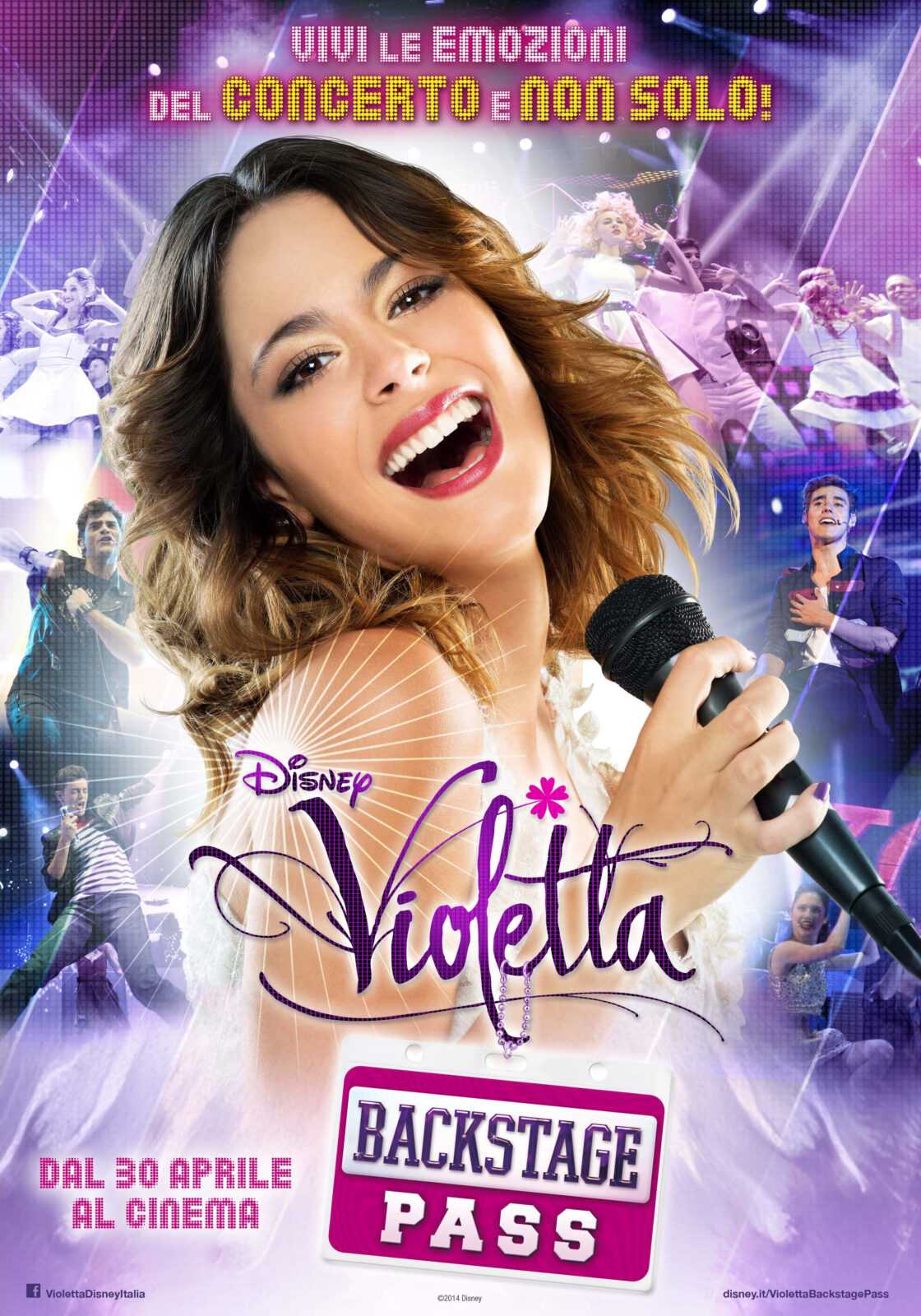 Violetta Backstage pass: il trailer italiano e la locandina | Digitale terrestre: Dtti.it
