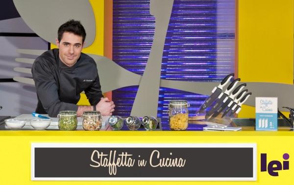 """""""Staffetta in cucina"""" con Roberto Valbuzzi su LeiTv"""