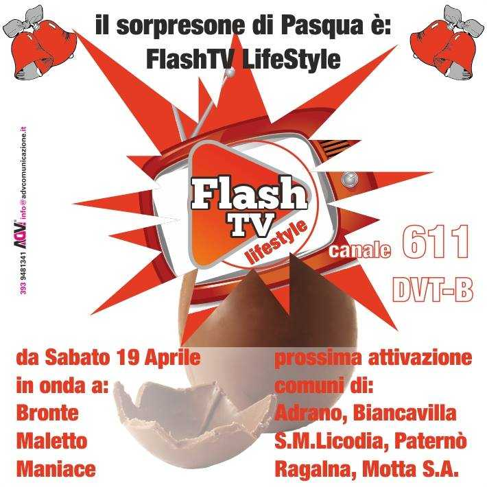 Flash TV Lifestyle, nuovo canale sul digitale terrestre in Sicilia | Digitale terrestre: Dtti.it