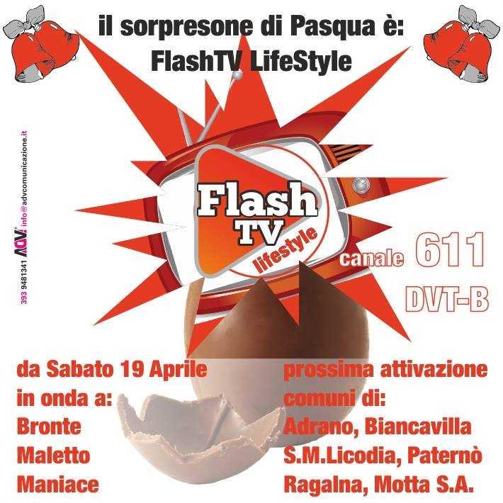 Flash TV Lifestyle, nuovo canale sul digitale terrestre in Sicilia | Digitale terrestre: Dtti.it