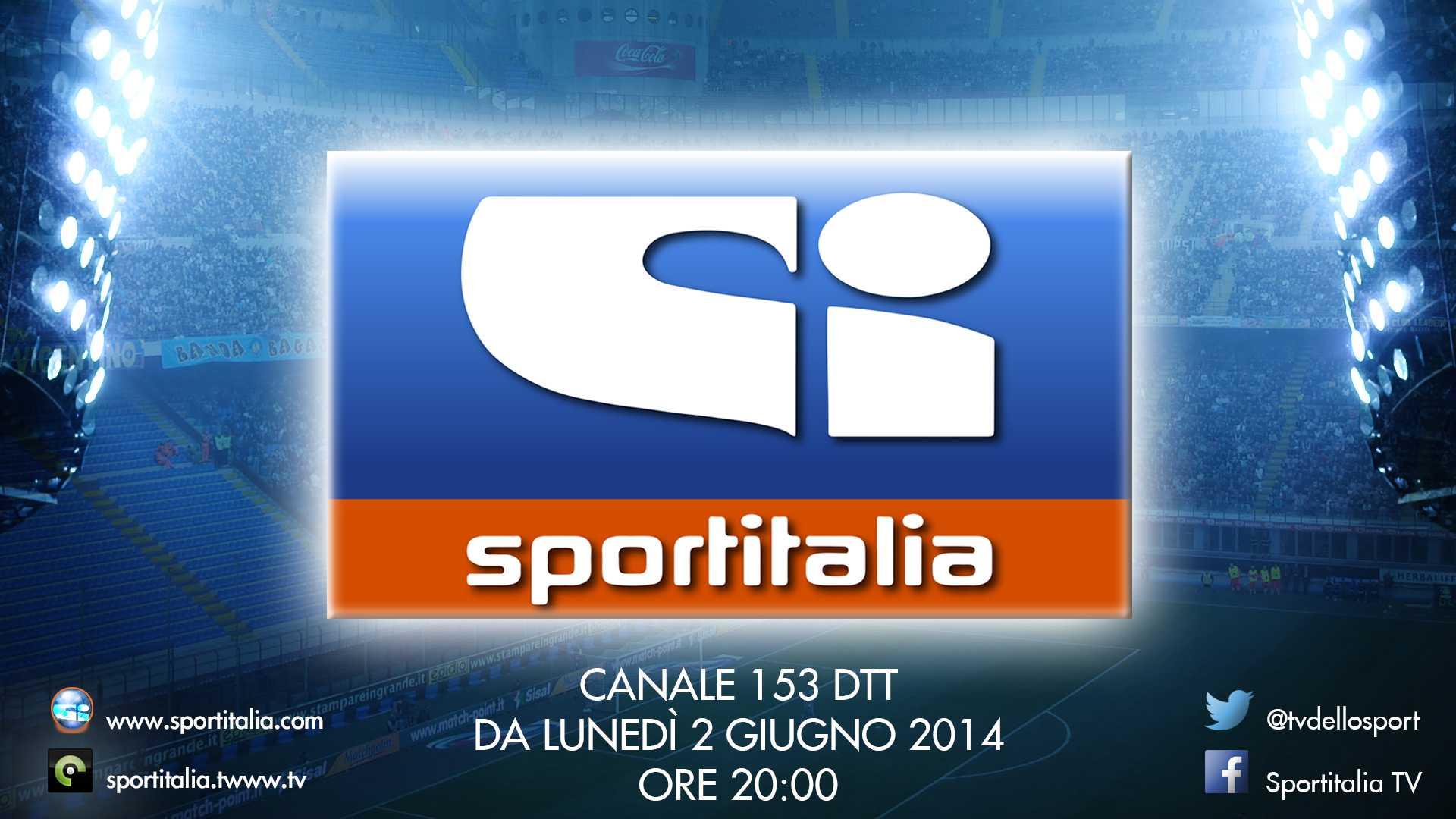 Attivata Sportitalia sul canale 153, trasmissioni al via dal 2 Giugno | Digitale terrestre: Dtti.it