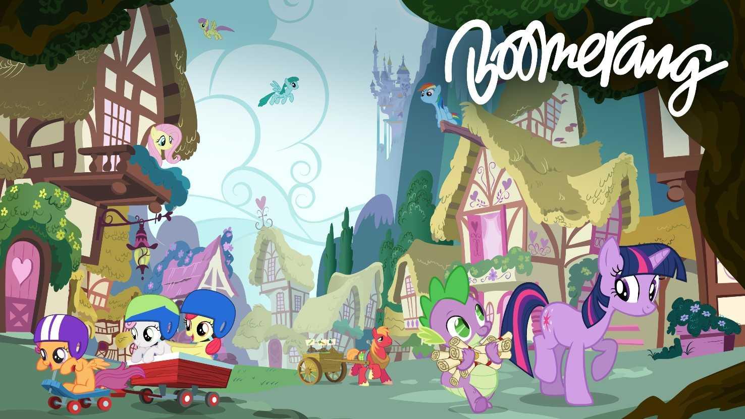 "Boomerang presenta ""My little Pony: l'amicizia è magica"" | Digitale terrestre: Dtti.it"