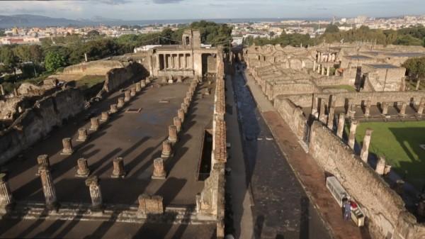 Pompei 3D, domani su Sky 3D un racconto con immagini esclusive