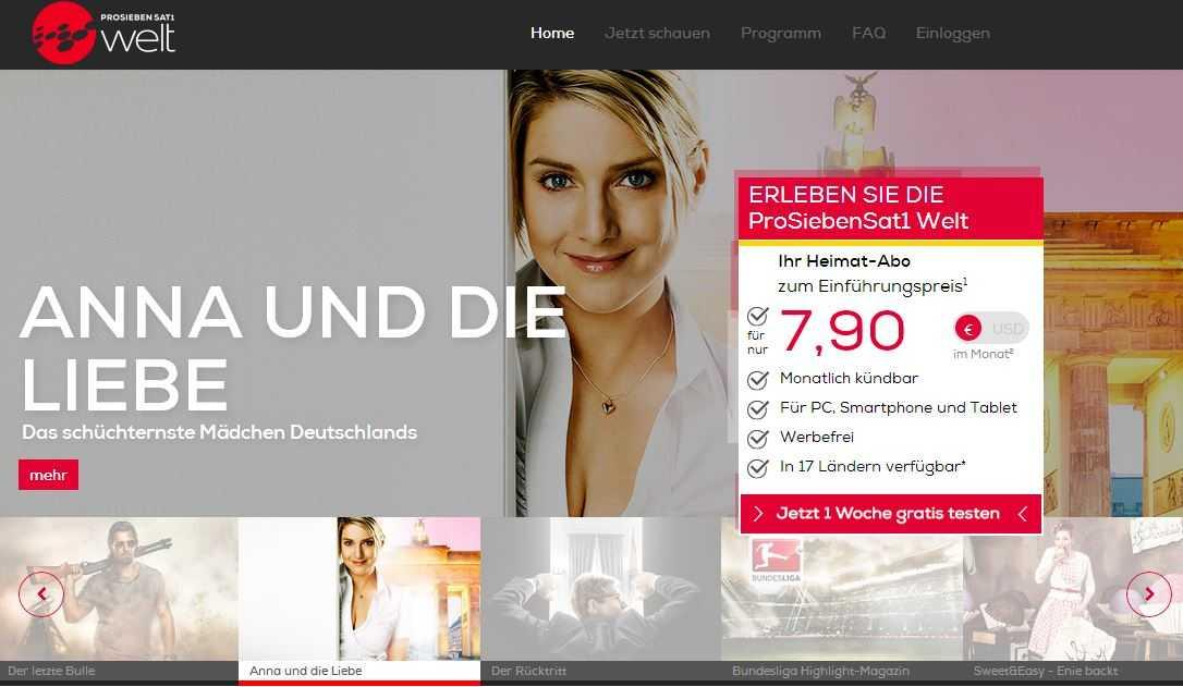 ProSiebenSat.1 Welt: un modo nuovo facile e veloce per connettersi e sentirsi a casa con i propri programmi preferiti! | Digitale terrestre: Dtti.it