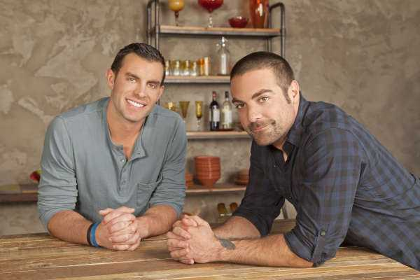 Anthony Carrino and John Colaneri of HGTV's Kitchen Cousins.