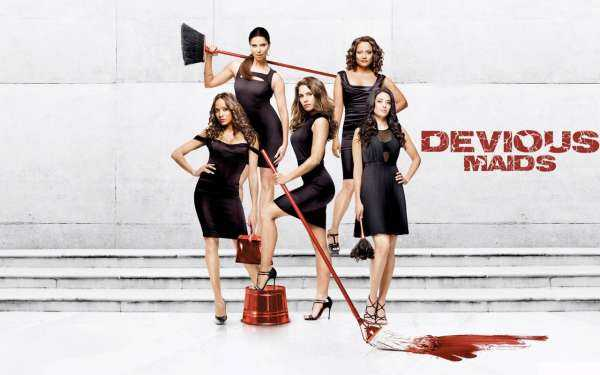 "Al via su Comedy Central: ""Devious Maids-Panni sporchi a Beverly Hills"" 