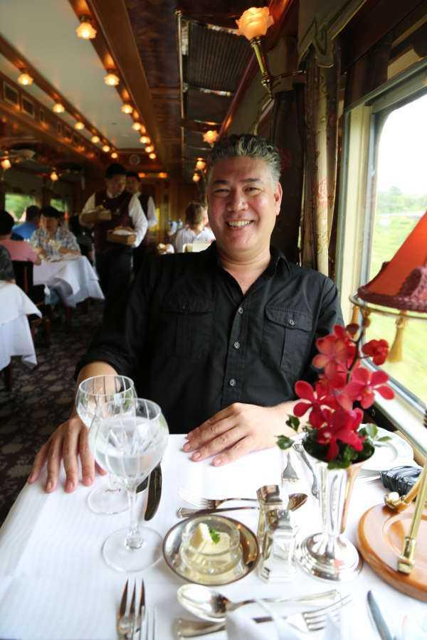 Su Fine Living i viaggi gourmet in treno di J Phang e i migliori sandwich d'America con Adam Richman