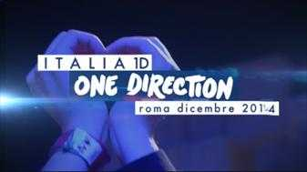 """Italia1D - One Direction-Roma Dicembre 2014"": un evento imperdibile il 18 dicembre su Italia 1 