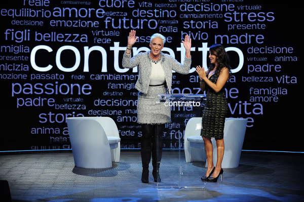 """Brigitte Nielsen ospite di Sabrina Ferilli nella sesta puntata di """"Contratto"""" su Agon Channel"""