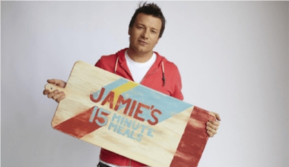 "Jamie Oliver e suoi ""Menù in 15 minuti"" in prima visione tv su laeffe da Venerdì 9 Gennaio | Digitale terrestre: Dtti.it"