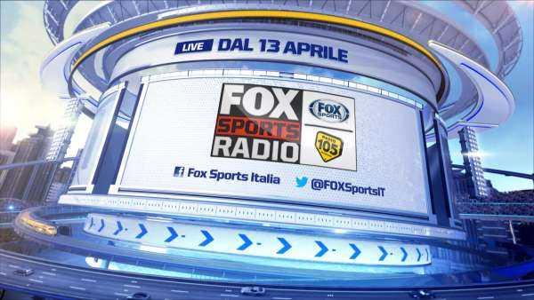 Fox Sports Radio 105: da oggi il nuovo programma di musica e sport | Digitale terrestre: Dtti.it