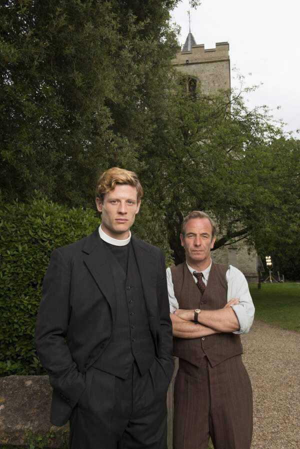 Grantchester: il vicario con la passione per il crimine arriva su Giallp | Digitale terrestre: Dtti.it