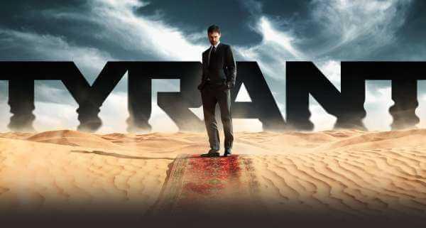 TYRANT da stasera alle 21:00 in prima visione assoluta su FOX | Digitale terrestre: Dtti.it