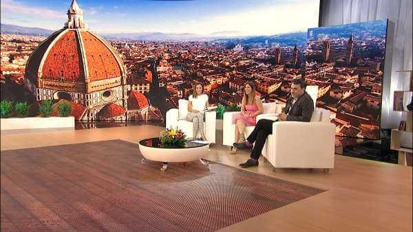 """Michela Andreozzi e Massimiliano Vado oggi ospiti """"A casa nostra"""" su Agon Channel   Digitale terrestre: Dtti.it"""