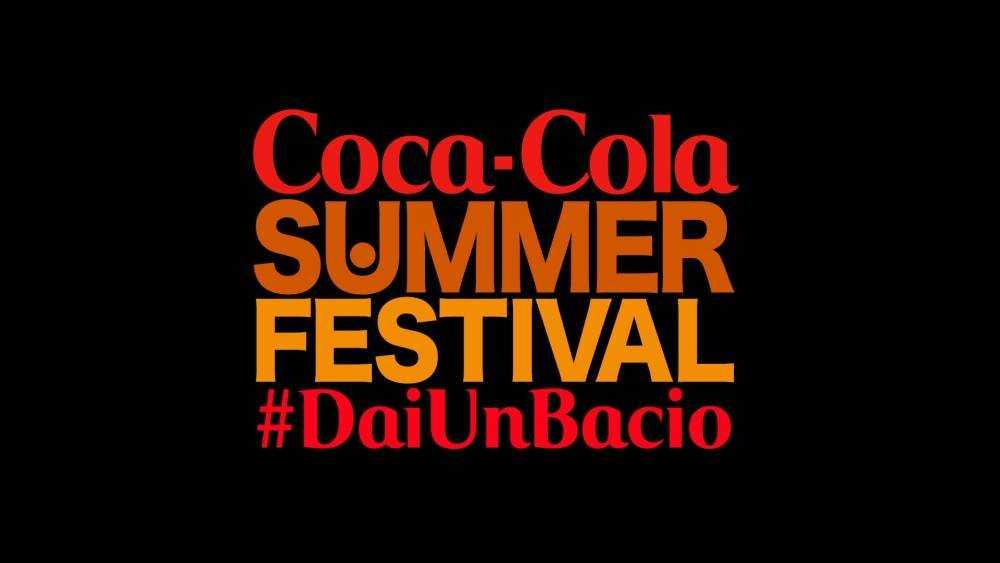 """Canale 5: al via """"Coca Cola Summer Festival #DaiUnBacio"""""""