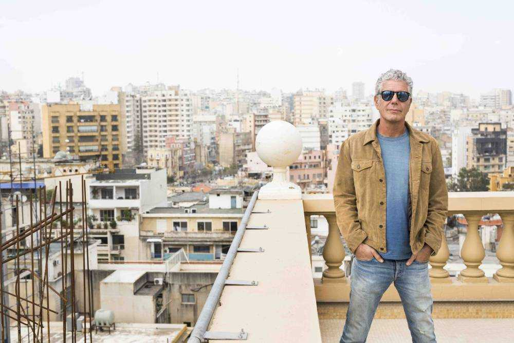 ABPU: Beirut 25219_002 BEIRUT, LEBANON - FEB 13: CNN'S Anthony Bourdain films his show Parts Unknown in Beirut, Lebanon on February 27-March 1, 2015. (photo by David S. Holloway/© 2015 CNN)