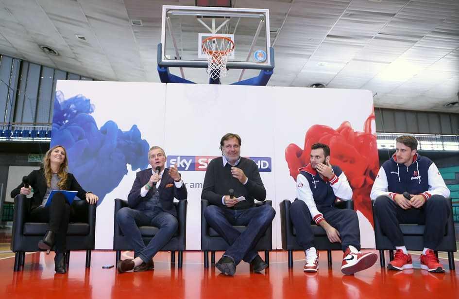 SKY SPORT presentazione stagione BASKET BEKO LEGA SERIE A