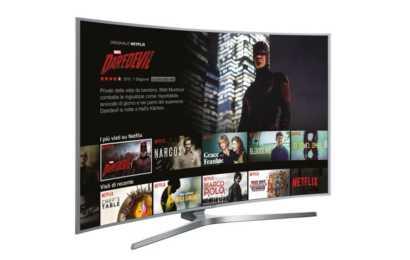 Netflix debutta su Samsung in Italia