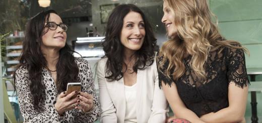 GIRLFRIENDS' GUIDE TO DIVORCE --  %u201CRule #23: Never Lie To The Kids%u201D Episode 101 -- Pictured: (l-r) Janeane Garofalo as Lyla, Lisa Edelstein as Abby McCarthy, Beau Garrett as Phoebe -- (Photo by: Carole Segal/Bravo)