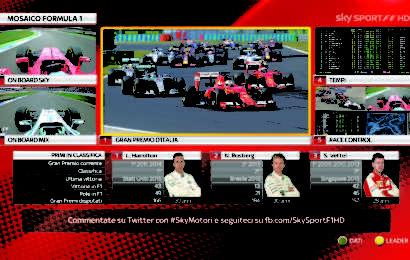 Formula 1, calendario 2017 diretta tv su Sky