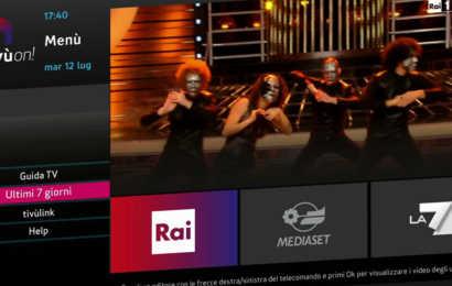Al via tivùon!: Rai, Mediaset e La7 on demand