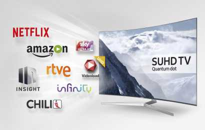 Samsung collabora con content provider europei per un'esperienza di fruizione dei TV ai massimi livelli
