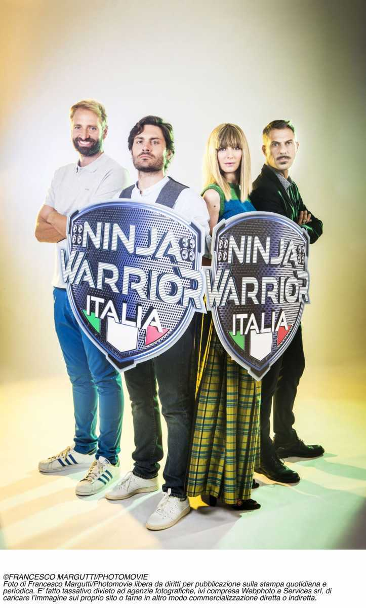 Arriva in Italia Ninja Warriors sul canale NOVE