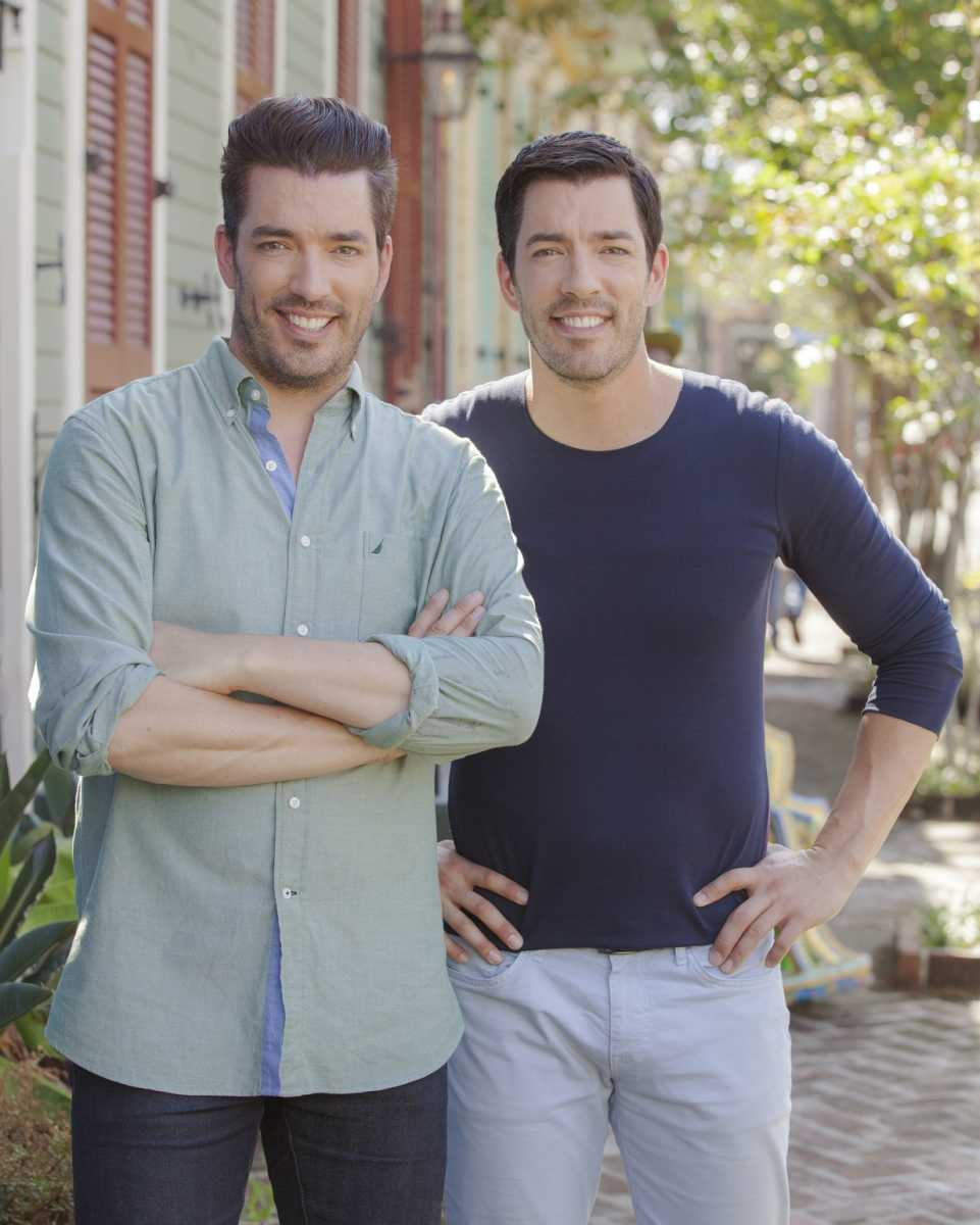 Jonathan and Drew Scott during the finale of Brothers Take New Orleans.