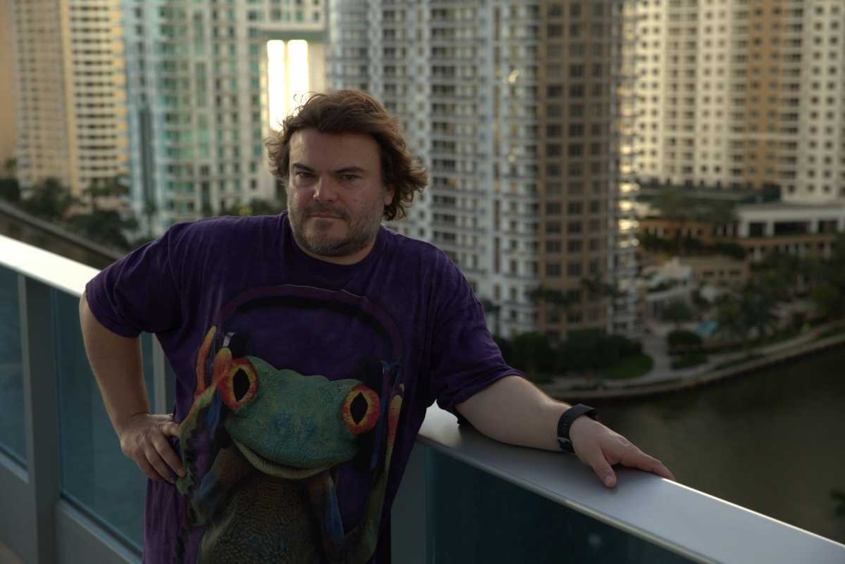 MIAMI, FLA.- Jack Black investigates rising sea levels in Miami. Years of Living Dangerously premieres Oct. 30th 8/7c on the National Geographic Channel. (Photo credit: National Geographic Channels/Michele K Short)