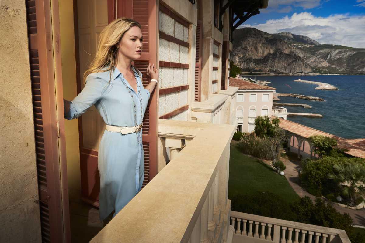 Riviera - Series 01First look images.Julia Stiles as Georgina Clios.