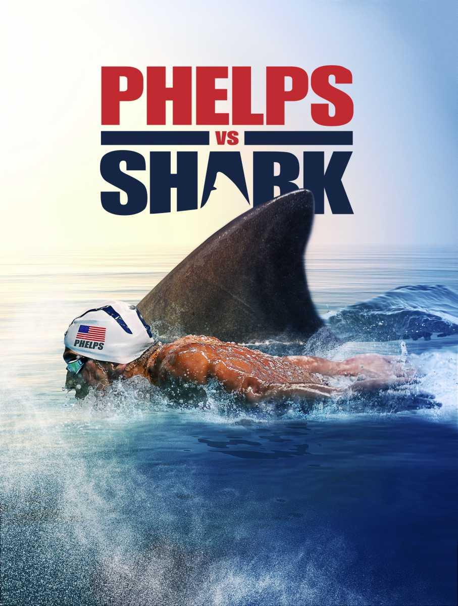 "Michael Phelps protagonista della ""Shark week"" su Discovery Channel"