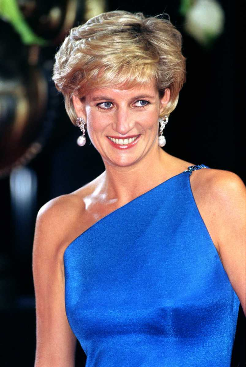 Diana, Princess Of Wales Attends The Victor Chang Research Institute Dinner Dance During Her Visit To Sydney, Australia. (Photo by Julian Parker/UK Press via Getty Images)