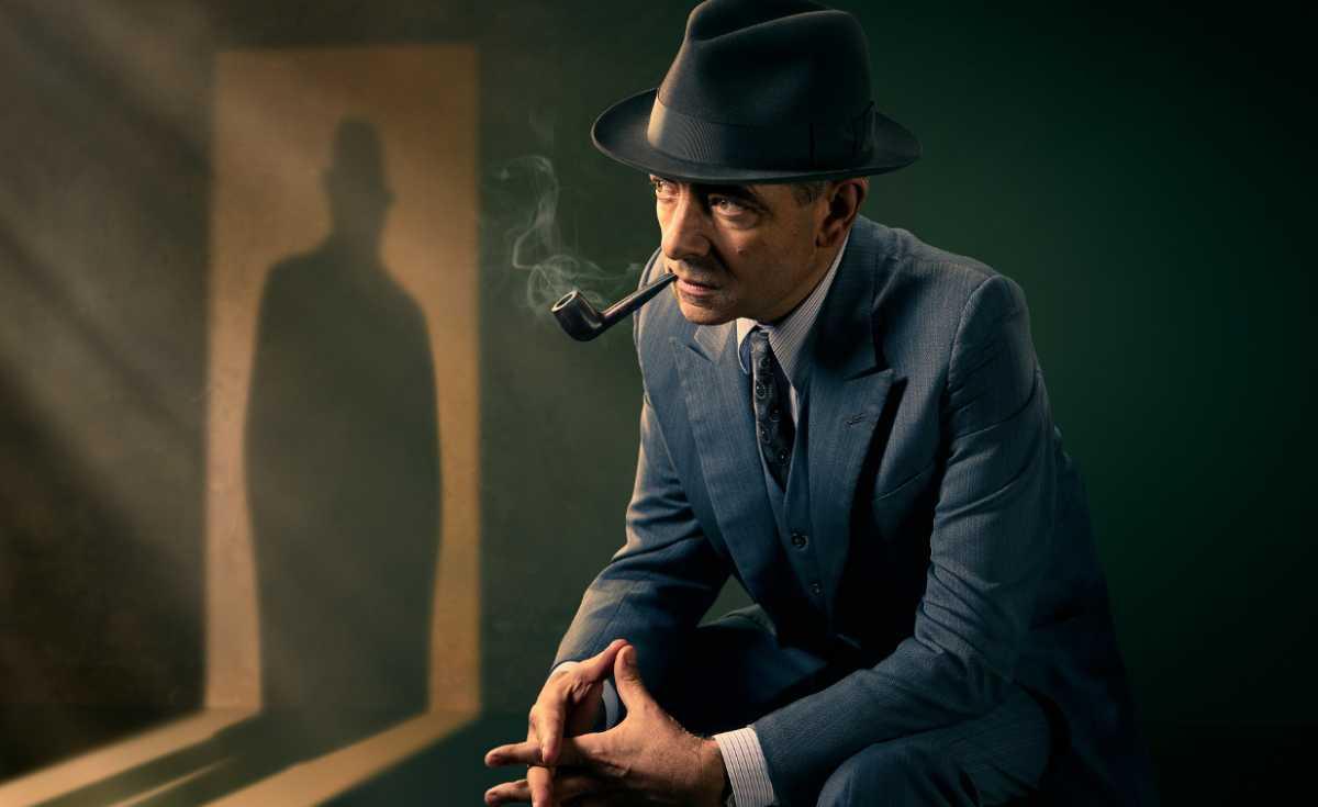 Picture shows: Maigret (ROWAN ATKINSON)