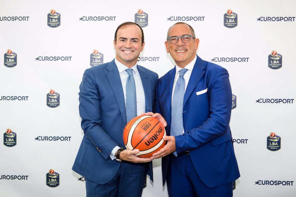 Eurosport e Lega Basket Serie A: al via la rivoluzione digitale nella pallacanestro italiana
